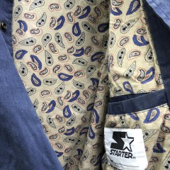 vintage 90's New York Yankees Starter Paisley Varsity jacket size XL MLB