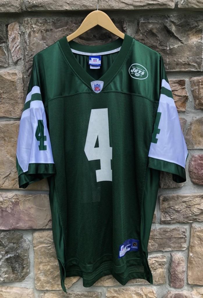 buy popular fd4a5 0f36c 2008 Brett Favre New York Jets Reebok NFL Jersey Size Large
