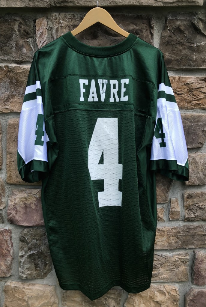 buy popular 5517d 48714 2008 Brett Favre New York Jets Reebok NFL Jersey Size Large