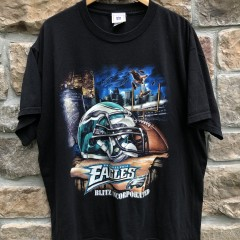 vintage 90's Philadelphia Eagles Blitz Incorporated NFL T Shirt
