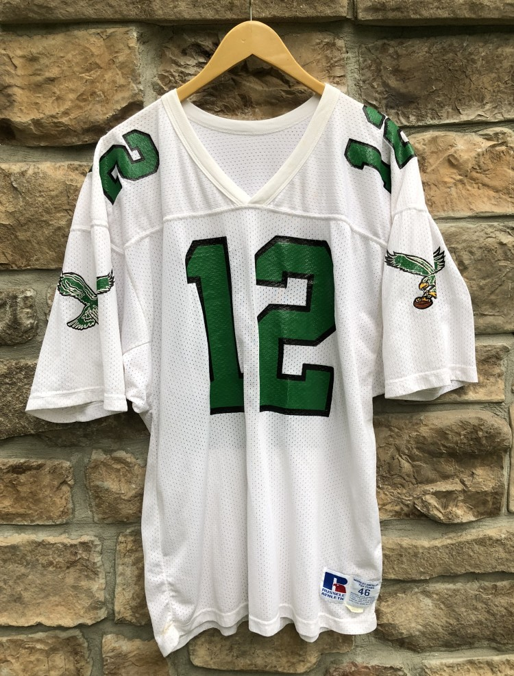 info for 510f7 941b4 1990 Randall Cunningham Philadelphia Eagles Authentic Russell NFL Jersey  Size 44