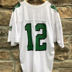 vintage 90's Randall Cunningham Philadelphia Eagles Russell Authentic NFL Football jersey size 46