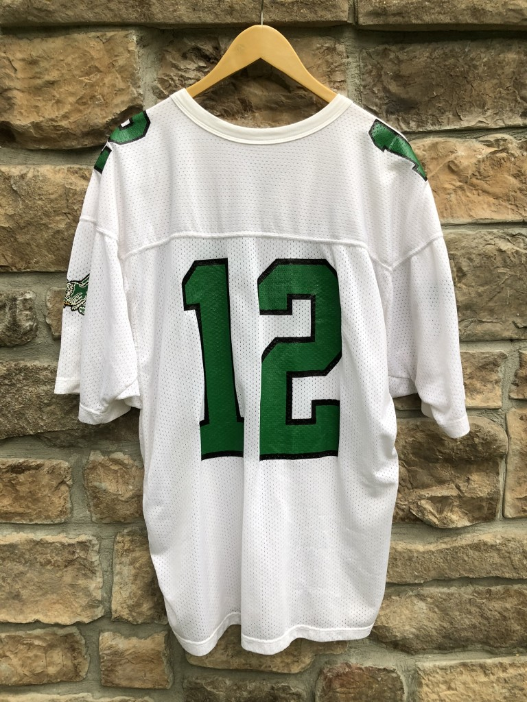 info for e171e d7d2f 1990 Randall Cunningham Philadelphia Eagles Authentic Russell NFL Jersey  Size 44