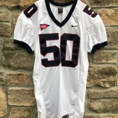 vintage 2002-03-04 Game used university of Penn quakers nike ncaa football jersey size XL #50