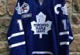 vintage 2000 Mats Sundin Toronto Maple Leafs Authentic CCM NHL Jersey size 56 autographed