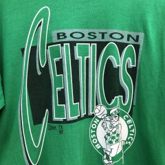 vintage 90's Boston Celtics Salem sports wear double thick NBA T shirt size XL