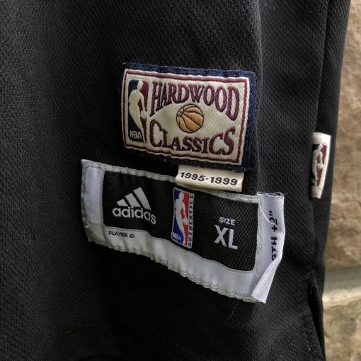 Vintage LeBron James Miami Heat hardwood classic 90's throwback jersey size youth XL