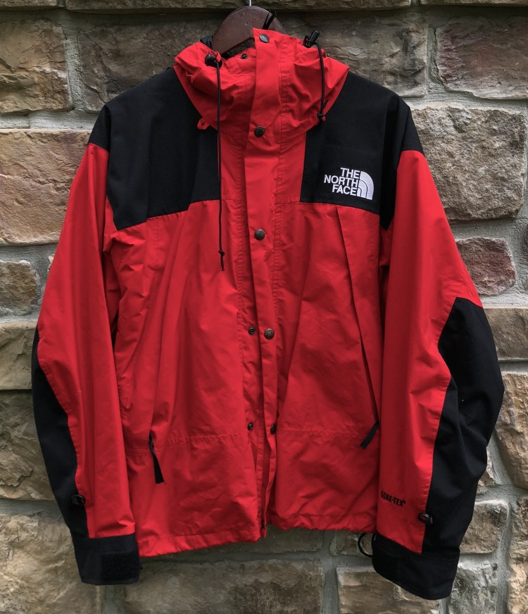 vintage 90 s The North Face Gore Tex Mountain Guide parka jacket red size  medium supreme c72226747