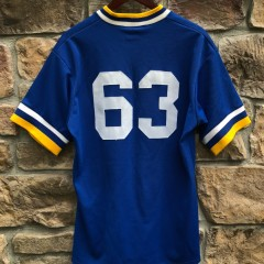 vintage 80's Seattle Mariners Game Worn Majestic Authentic MLB Jersey #63