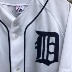 vintage 2007 Gary Sheffield Detroit Tigers Majestic MLB jersey size XL