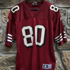 vintage 90's Jerry Rice San Francisco 49ers Starter NFL Jersey youth XL