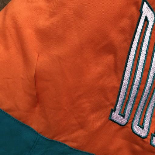 vintage 90's Miami Dolphins Logo 7 NFL Jacket size large