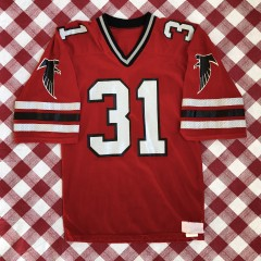 Vintage 1980's William Andrews Atlanta Falcons Authentic Russell NFL Jersey