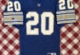 Vintage 90's Barry Sanders Detroit Lions Russell Authentic NFL Jersey size 44 large