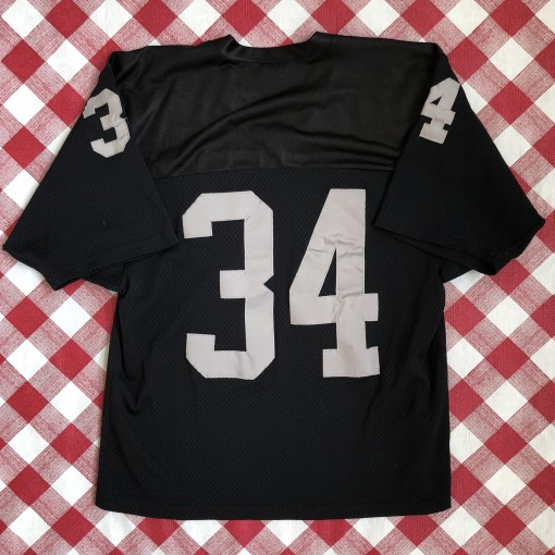 vintage 1980's Los Angeles Raiders Bo Jackson Rawlings Authentic NFL jersey