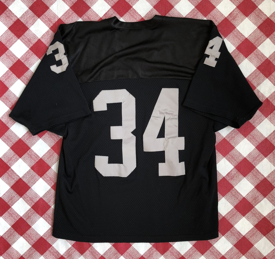 f0020b17c1a vintage 1980's Los Angeles Raiders Bo Jackson Rawlings Authentic NFL jersey