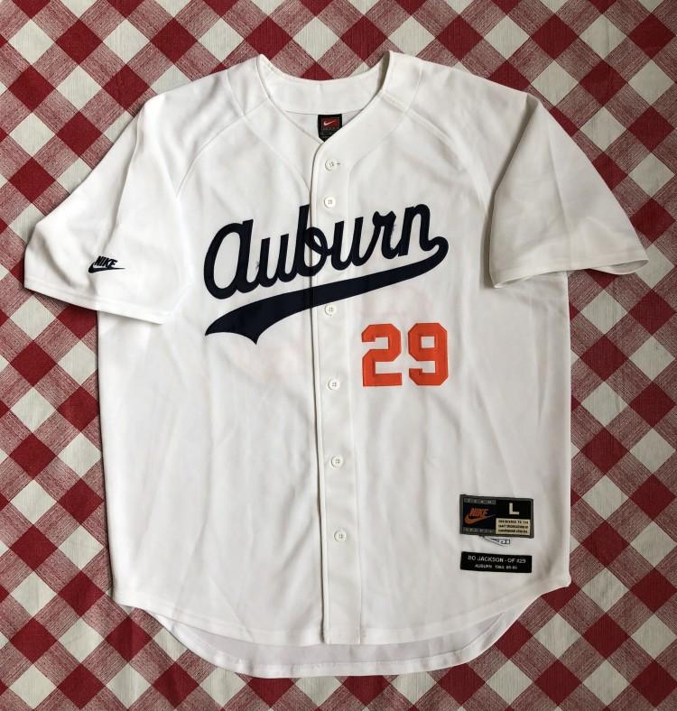 timeless design 7991d 5e6fd 1985 Bo Jackson Auburn Tigers Nike Retro NCAA Baseball Jersey Size Large
