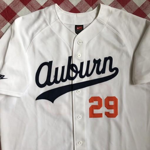 timeless design 2f572 318b2 1985 Bo Jackson Auburn Tigers Nike Retro NCAA Baseball Jersey Size Large