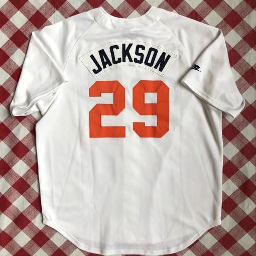 vintage Nike retro Bo Jackson Auburn Tigers NCAA baseball jersey size large