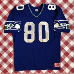 vintage 80's Steve Largent Seattle Seahawks Rawlings Authentic NFL football jersey OG