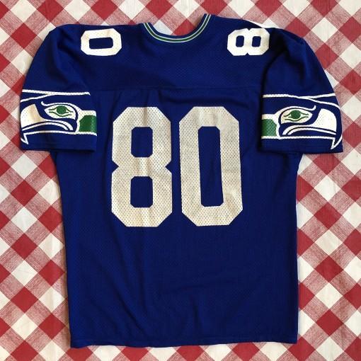 vintage 80's Steve Largent Seattle Seahawks Rawlings Authentic NFL football jersey OG