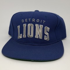vintage 90's Detroit Lions Starter Arch Snapback Hat