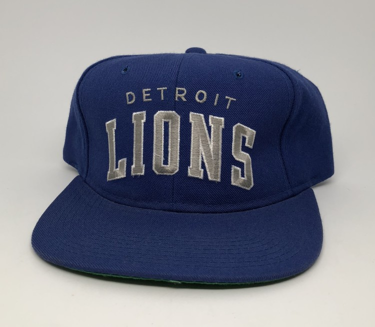 73ae74fc 90's Detroit Lions Starter Arch NFL Snapback Hat