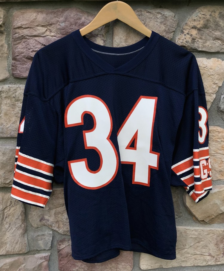cheaper be99c 248e7 1980's Walter Payton Chicago Bears Authentic Russell NFL Jersey