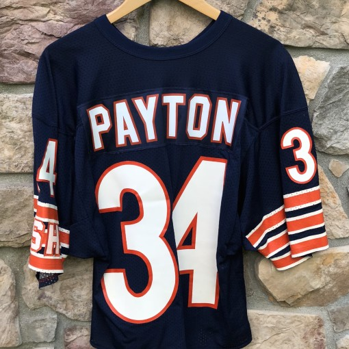 vintage 80's Walter Payton Chicago Bears Authentic NFL Jersey throwback OG