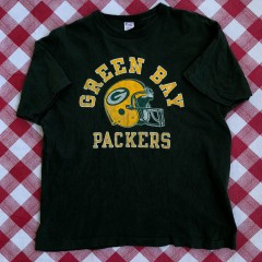 Vintage 80's Green Bay packers champion nfl t shirt