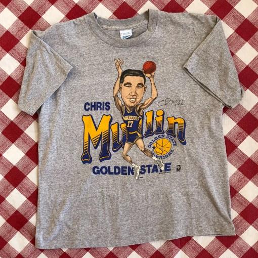 Vintage 90's Chris mullin golden state warriors Salem nba shirt