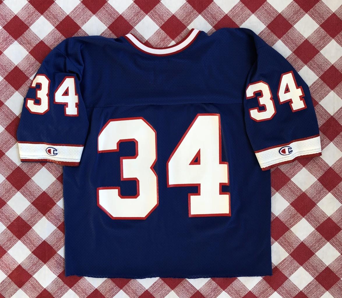 4320d8da9 vintage 90 s Thurman Thomas Buffalo Bills Champion authentic nfl jersey  size medium