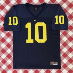 1999 Tom Brady Michigan Wolverines nike ncaa jersey size medium