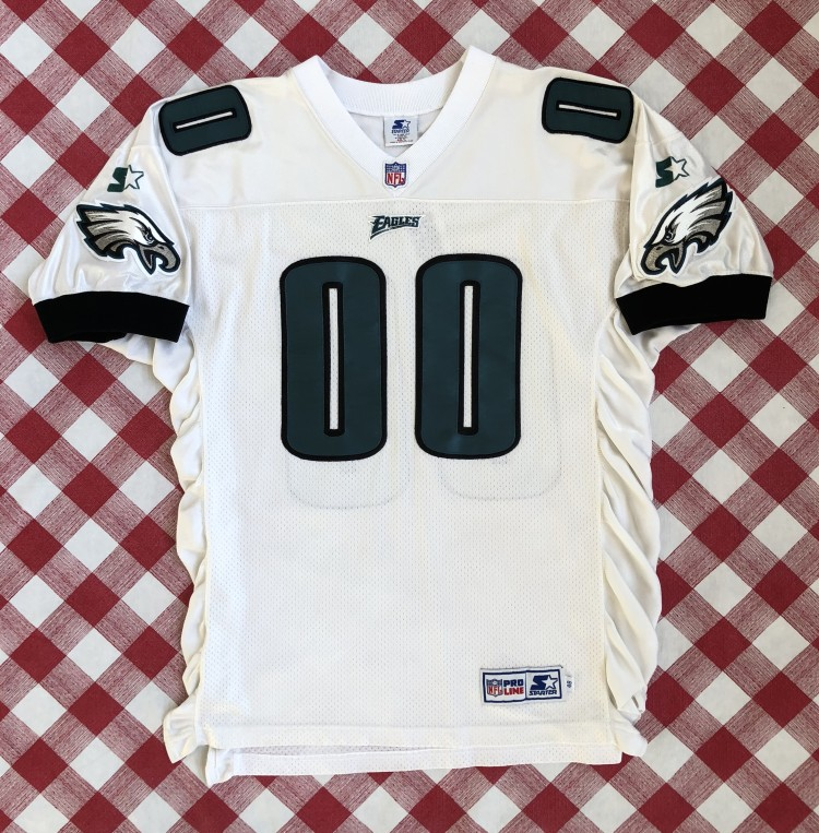 8dd49b22a vintage 1996 Philadelphia Eagles Swoop Mascot Starter Authentic NFL jersey  size 46 Large