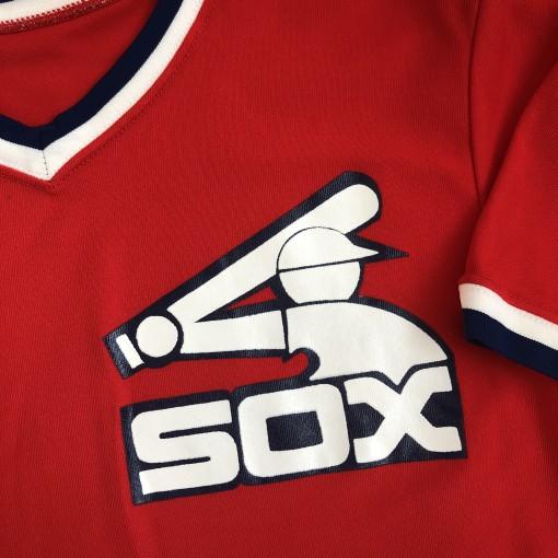 vintage 1980's Chicago White Sox Sandknit MLB jersey size 42