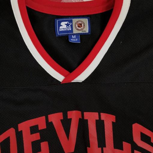 vintage 1990's New Jersey Devils Starter NHL practice jersey size medium