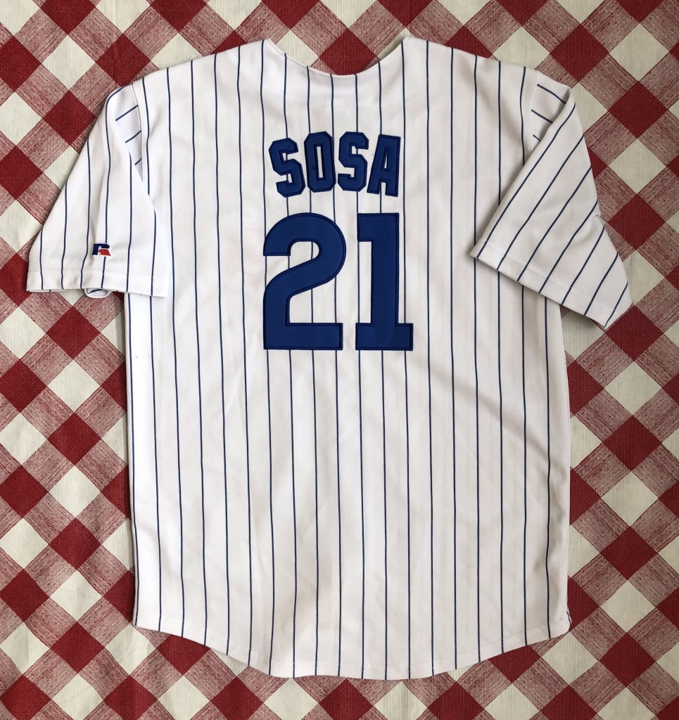 2dc9675dc vintage 90 s Chicago Cubs Sammy Sosa Russell MLB jersey youth size XL