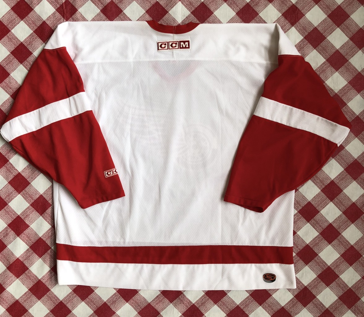 vintage 90 s Detroit Red Wings CCM NHL hockey jersey size XXL 77ef42d35