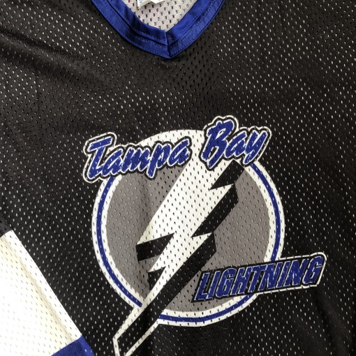 Vintage 90's Tampa Bay Lightning CCM NHL Jersey size Large