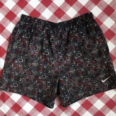 vintage 90's Nike Swim trunks pattern size large