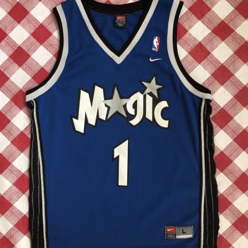 vintage 2001 Tracy McGrady Orlando Magic Nike Swingman NBA jersey size Large b44c83085