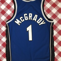 vintage 2001 Tracy McGrady Orlando Magic Nike Swingman NBA jersey size Large