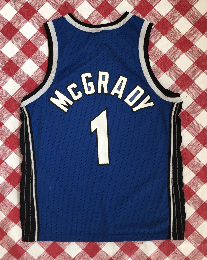 vintage 2001 Tracy McGrady Orlando Magic Nike Swingman NBA jersey size Large 6afcb867f