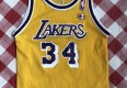 vintage 90's Shaq Los Angeles Lakers Champion NBA jersey size youth small