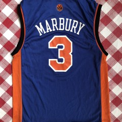 2004 Stephon Marbury New York Knicks Reebok NBA jersey size medium