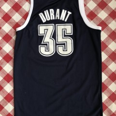 2012 Kevin Durant Oklahoma City Thunder Alternate adidas nba swingman jersey size medium