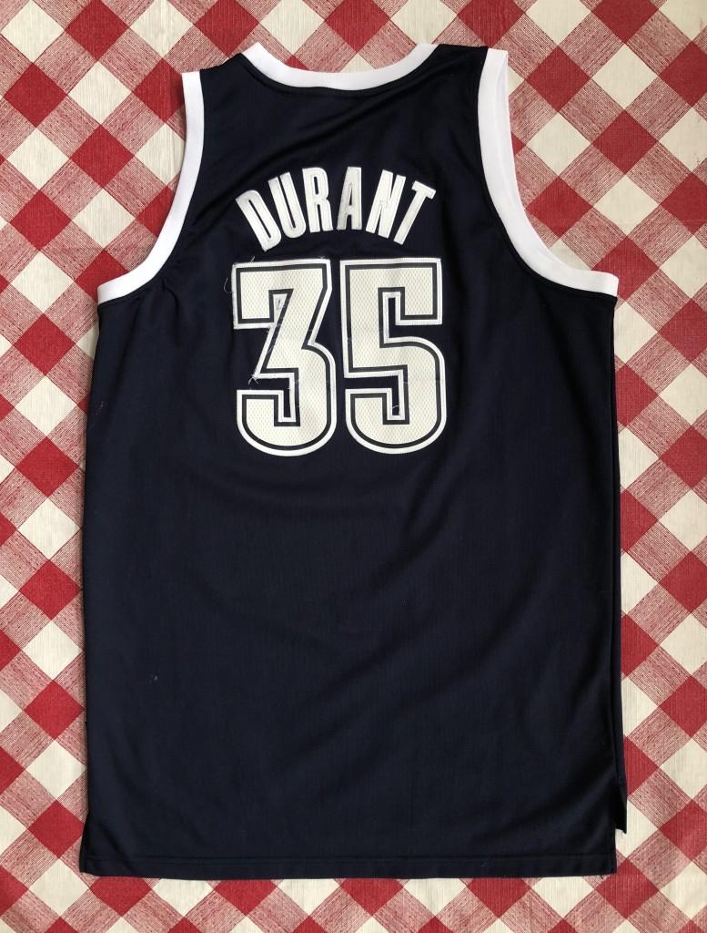 70ef295f6 2012 Kevin Durant Oklahoma City Thunder Alternate adidas nba swingman jersey  size medium
