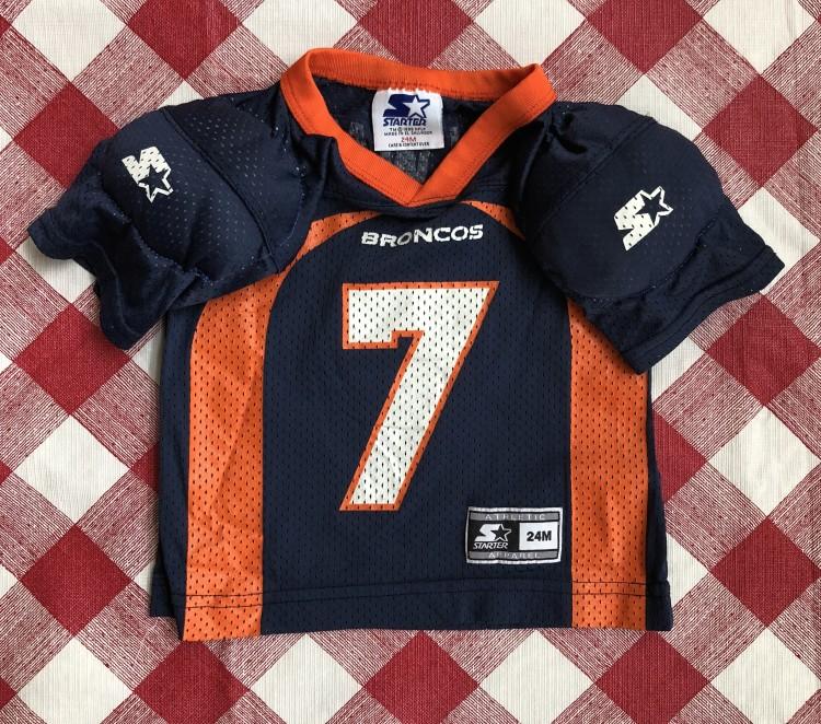 585ca203 1998 John Elway Denver Broncos Starter NFL Jersey Toddler Size 24M