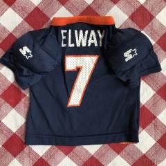 vintage 90's John Elway Denver Broncos Starter NFL jersey toddler size 24M