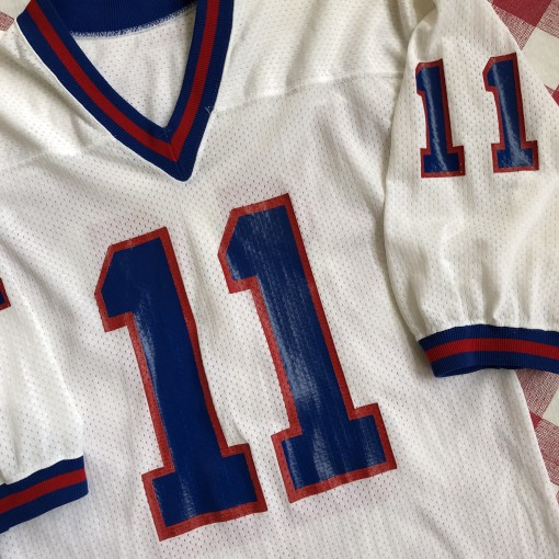 vintage 80's Phil Simms New York Giants Russell Mitchell and Ness NFL jersey size Medium